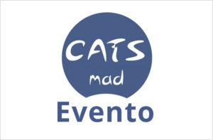 Logo CatsMad con leyenda de Evento