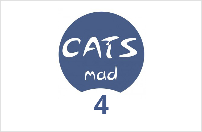 Logo CatsMad número 4