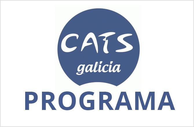 Logotipo del CatsGalicia con la leyenda Progra