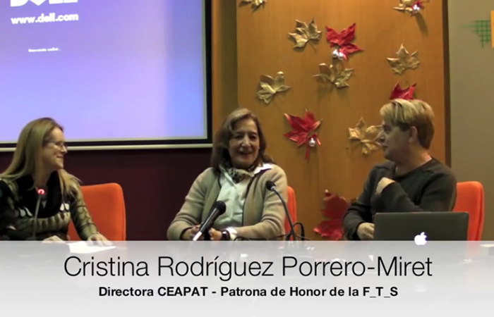 Cristina Rodriguez nombrada patrona de honor, junto a Enrique Varela y Celia Romero