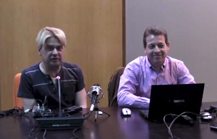 Daniel Tapias junto a Enrique Varela en CatsMad 10
