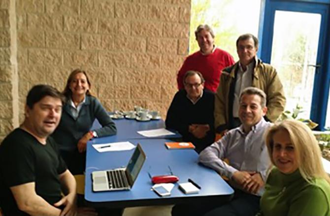 Comité organizador del erts edición 2015