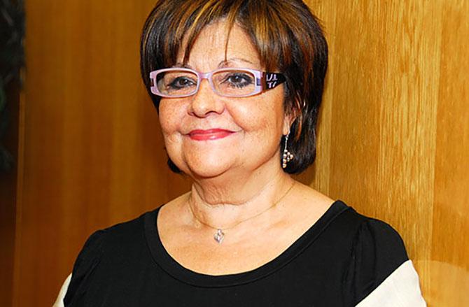 Primer plano de Pilar Rodríguez