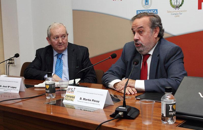 Una imagen del erst'15, José María López junto a Martín Pérez