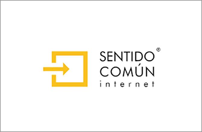 Logotipo de Sentido Común internet