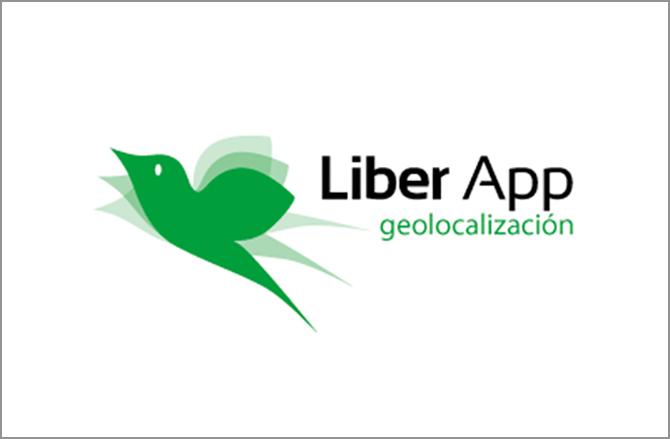 Lototipo de Liber App geolocalización