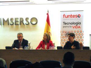 De izquierda a derecha D. Jose Carlos Baura, Dª Cristina Rodriguez-Porrero y D. Enrique Varela
