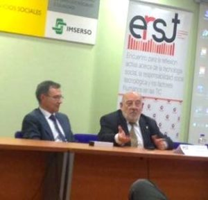 De izquierda a derecha, D. Federico Traspaderne y D. Rafael García