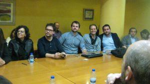 Mesa redonda con empresarios