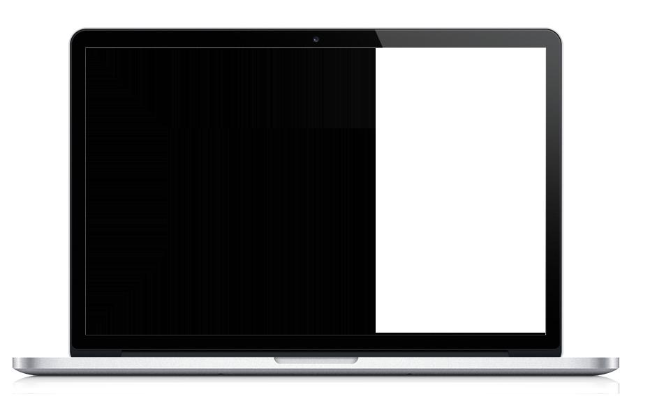 Portátil con fondo fotos ilustrativas