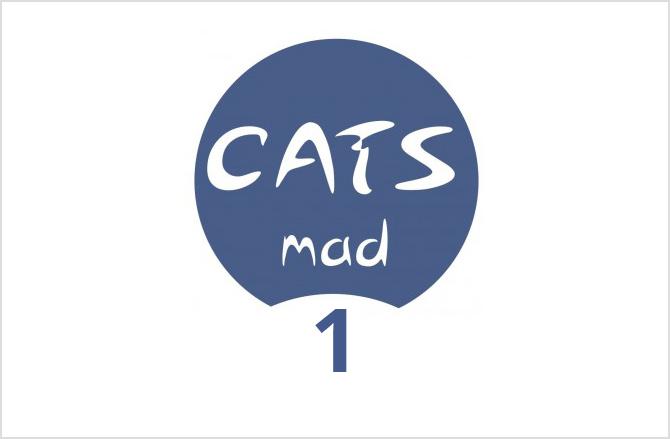 Logo CatsMad para el número 1