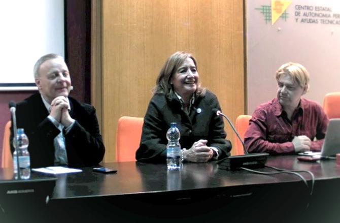 La primera edición de CatsMad, José Manuel Azorín, Cristina Rodriguez y Enrique Varela