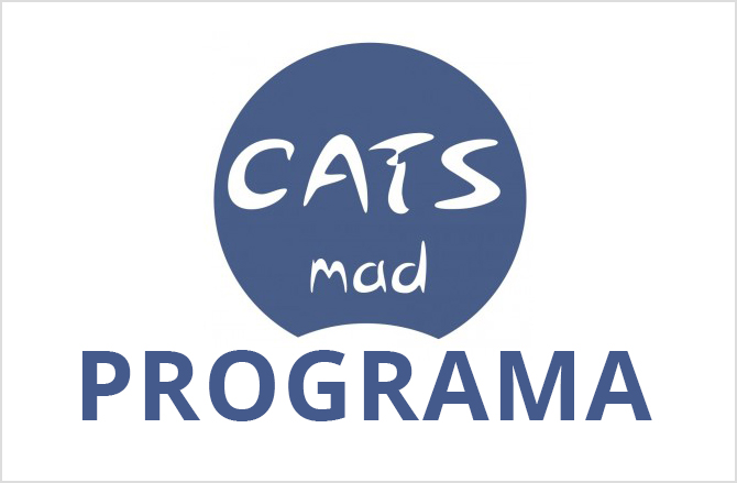 Logo de CatsMad con la leyenda programa