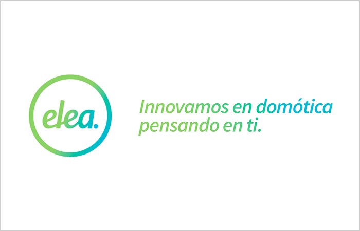 Logotipo de elea, empresa de domótica