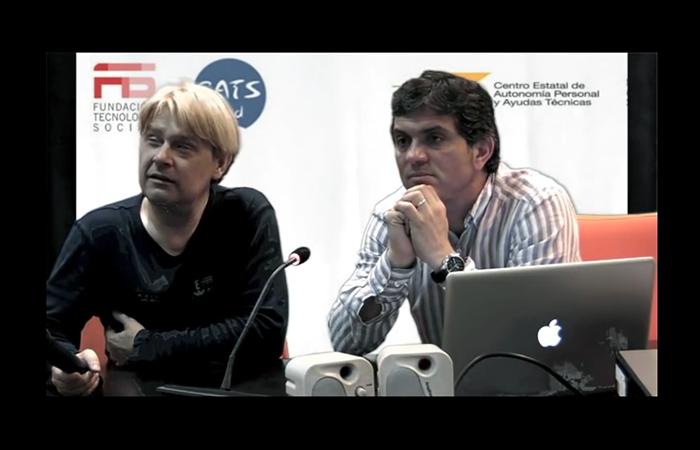 CatsMad 4, Enrique Varela junto a Agustín Calvo