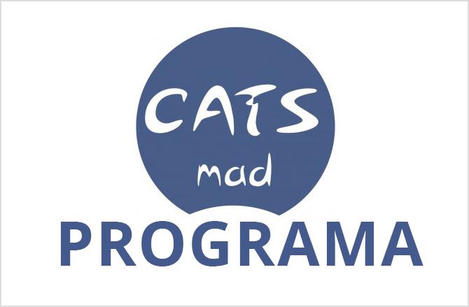 Logotipo del CatsMad con la leyenda Programa