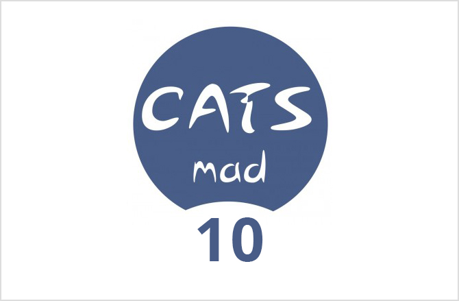 Logo CatsMad número 10