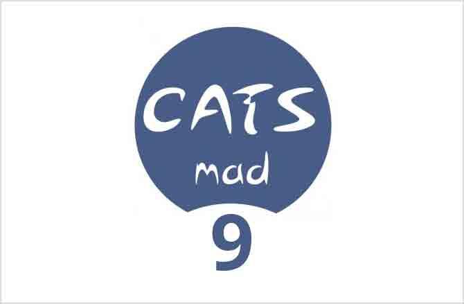 Logo CatsMad número 9